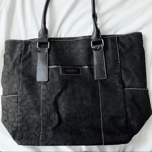 Black Calvin Klein Tote Bag